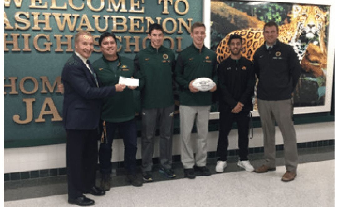Ashwaubenon High School awarded $500