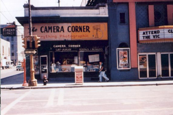 camera corner connecting point first store 1953 green bay wisconsin
