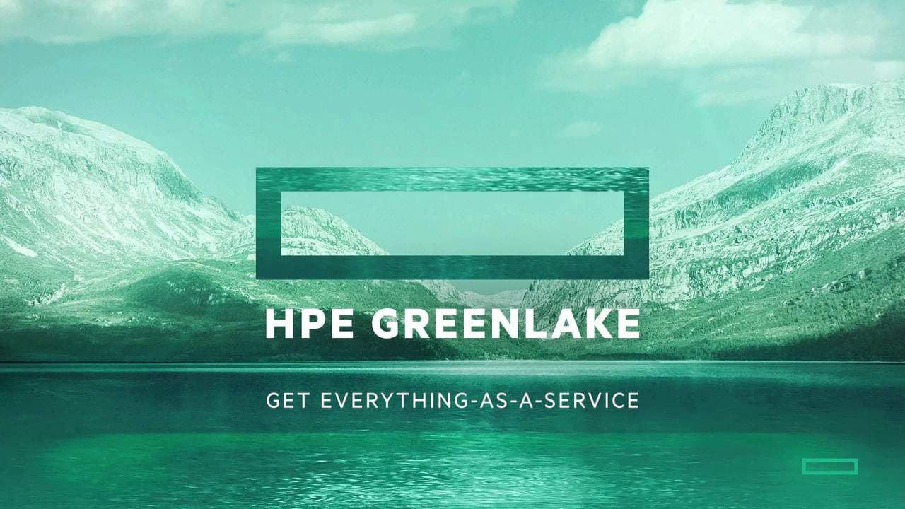 HPE GreenLake-Delivering a Paradigm Shift with IT Consumption Model