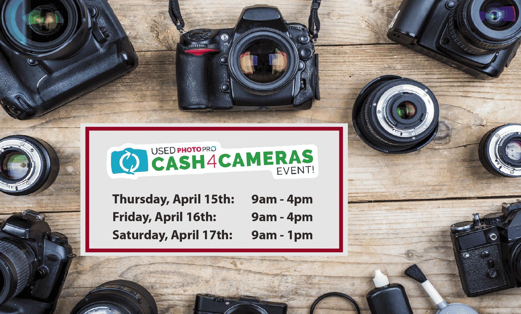Cash4Cameras April 2021